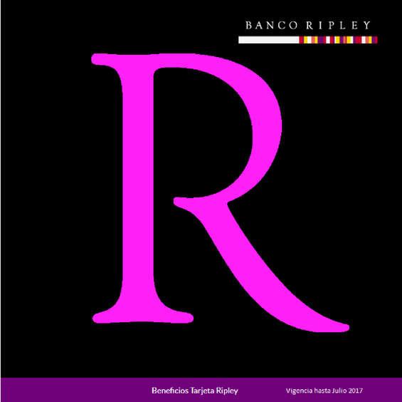 Ofertas de Banco Ripley, Beneficios Tarjeta Ripley hasta julio