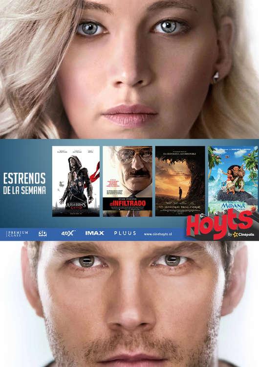 Ofertas de Cine Hoyts, Estrenos