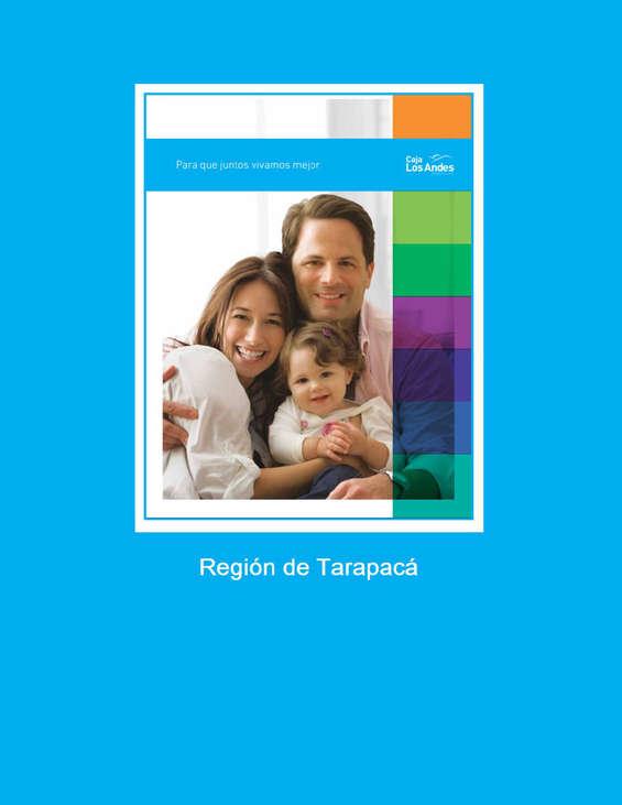 Ofertas de Caja Los Andes, Convenios Región de Tarapaca