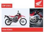Ofertas de Honda, CRF 250 L