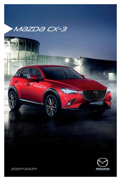 Ofertas de Mazda, mazda CX 3