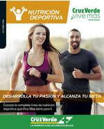 Ofertas de Cruz Verde, nutrición deportiva