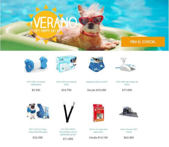 Ofertas de Pet Happy, verano pet happy