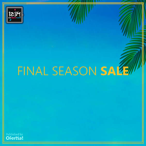 Ofertas de Doce 34, Final Season Sale