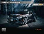 Ofertas de Chevrolet, Catalogo Camaro 50th