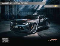 Catalogo Camaro 50th