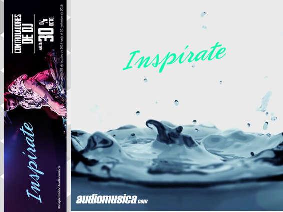 Ofertas de Audiomusica, #InspirateConAudiomusica