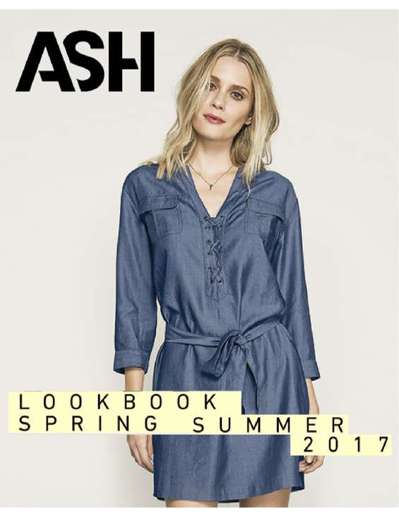 Ofertas de Ash, Spring summer 2017