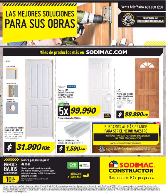 Ofertas de HomeCenter Sodimac, mejores soluciones