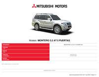 Mitsubishi montero 3.2 AT 5 puertas