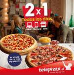 Ofertas de Telepizza, nuevas promos