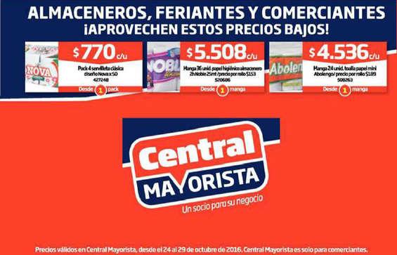 Ofertas de Central Mayorista, precios bajos