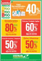 Ofertas de Cruz Verde, precios bajos