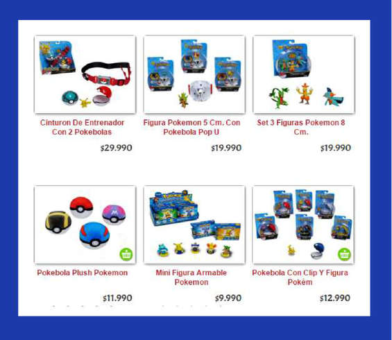 Ofertas de Play Box, línea pokémon