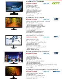 Notebooks, PCs, Monitores, AIO · BIP