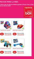 Ofertas de Play Box, precios para la risa
