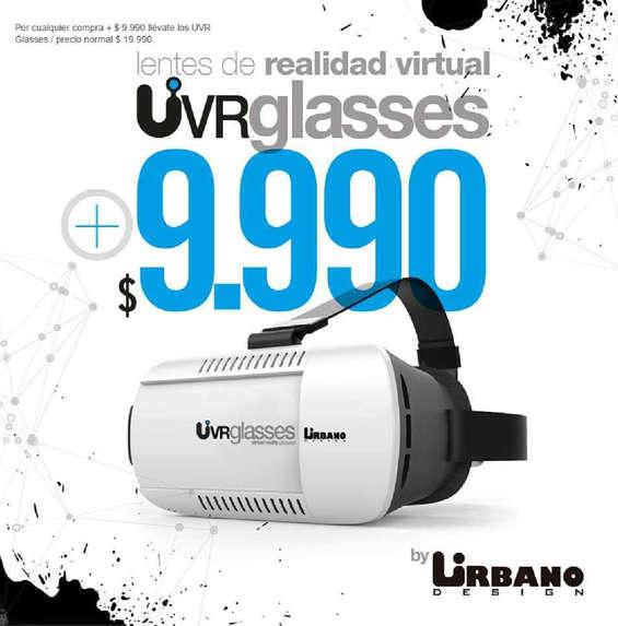 Ofertas de Urbano Design, uvr glasses
