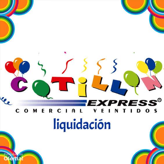 Ofertas de Cotillón Express, liquidación
