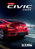 Ofertas de Honda, all new civic coupe