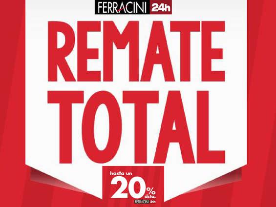 Ofertas de Ferracini, Remate final