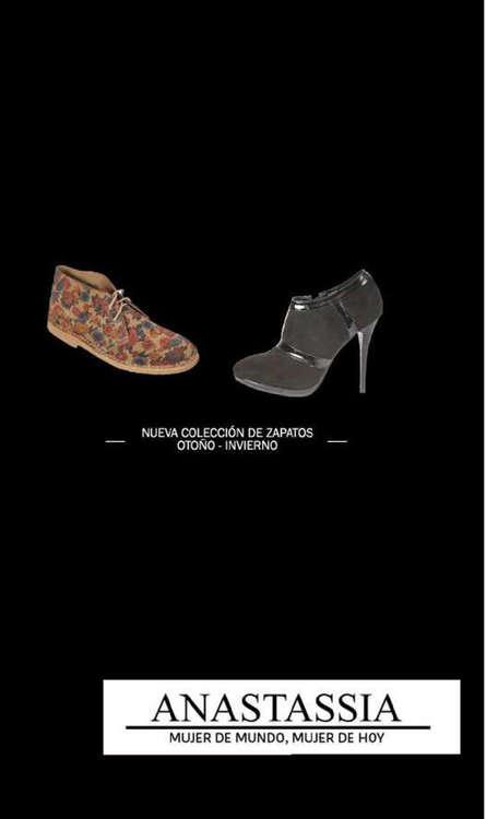 Ofertas de Anastassia, zapatos otoño invierno
