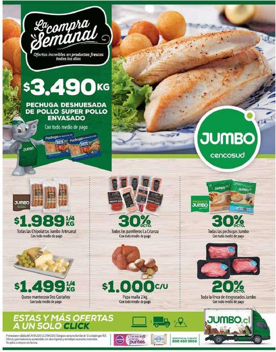 Ofertas de Jumbo, la compra semanal