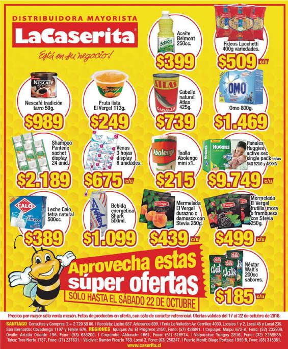 Ofertas de La Caserita, ofertas la caserita
