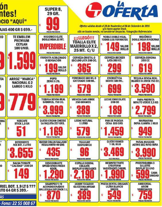 Ofertas de La Oferta, oferta semanal