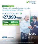 Ofertas de Movistar, tecnología de empresa