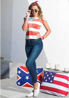Ofertas de Tricot, American Flag