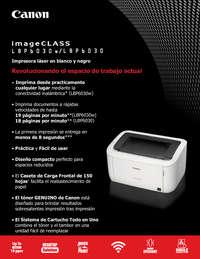Impresora Laser B/N LBP6030