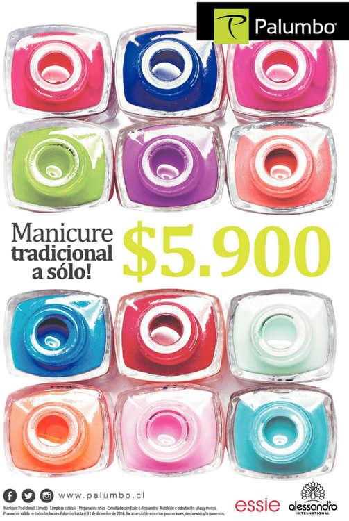 Ofertas de Palumbo, manicure tradicional
