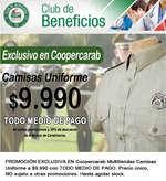 Ofertas de Coopercarab, Camisas Uniforme