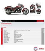 Ofertas de Yamaha Motos, Motos Custom