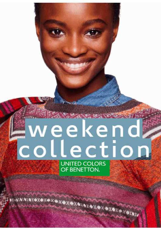 Ofertas de Benetton, weekend collection