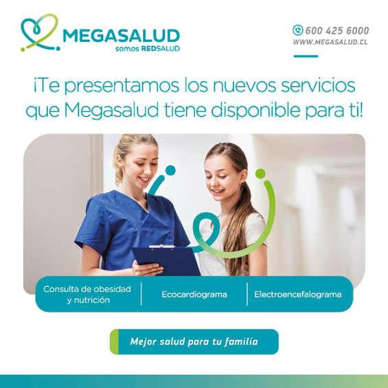 Ofertas de Mega Salud, Nuevos servicios