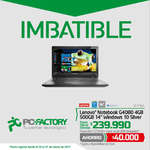 Ofertas de PC Factory, ofertas imbatibles