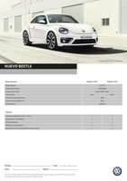 Ofertas de Volkswagen, Nuevo Beetle