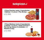 Ofertas de Telepizza, menús internet