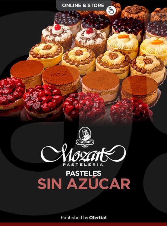 Ofertas de Pastelería Mozart, Sin azúcar