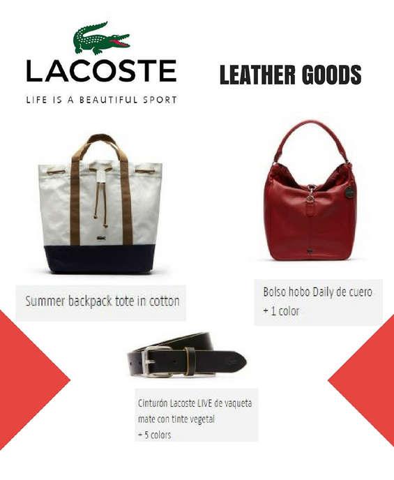 Ofertas de Lacoste, Leather Goods