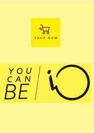 nueva colección you can be IO