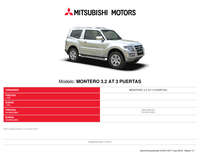 Mitsubishi montero 3.2 AT 3 puertas