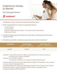 Plan Conyuge Premium