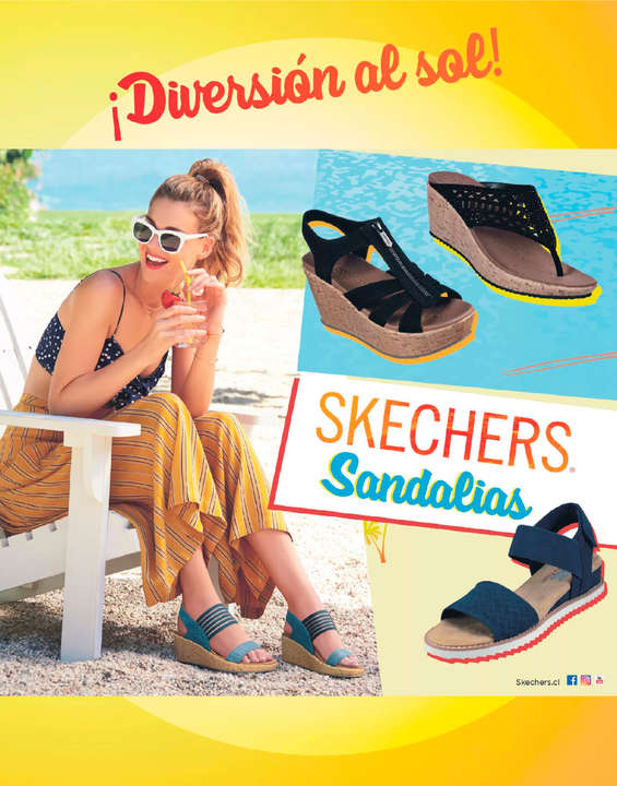 Ofertas de Skechers, Sandalias