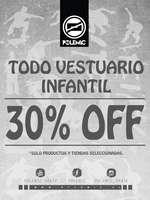Ofertas de Polemic, 30%off Vestuario Infantil