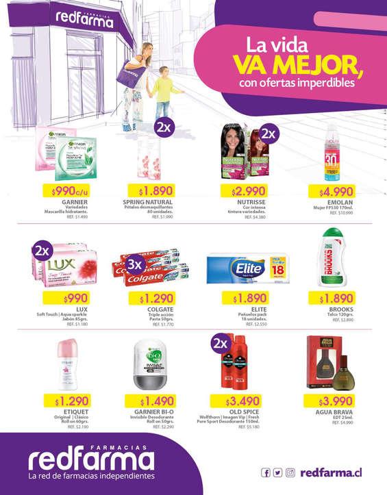 Ofertas de Farmacias Redfarma, Volante Masivo
