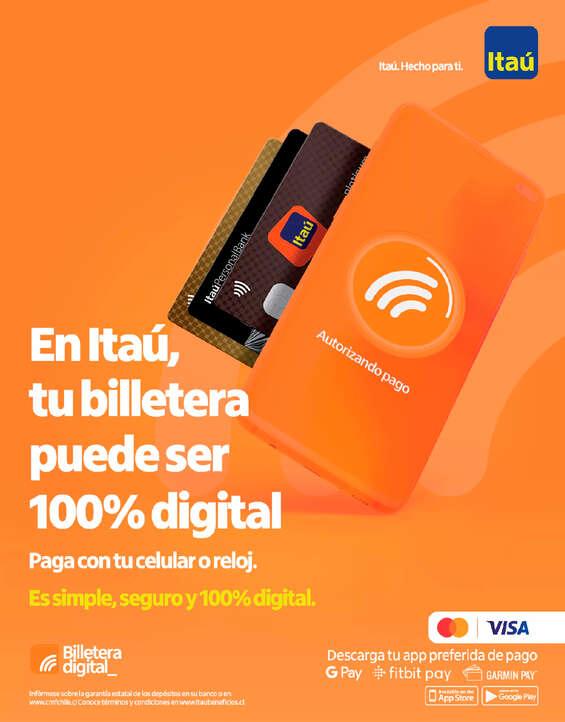 Ofertas de ITAU, Billetera Digital