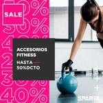 Ofertas de Sparta, Descuentos en accesorios fitness