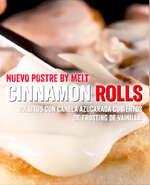 Ofertas de Melt Pizzas, WELCOME CINNAMON ROLLS!